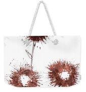 Blood Flower Weekender Tote Bag