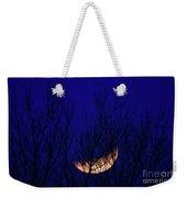 Blood Moon And Winter Trees Weekender Tote Bag