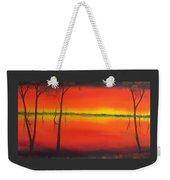 Blood Orange Sunset Weekender Tote Bag