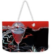 Blood Red From Pure White Weekender Tote Bag