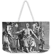 Blood Transfusion From Dog To Man, 1692 Weekender Tote Bag