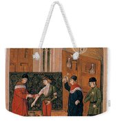 Bloodletting Weekender Tote Bag