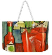 Bloody Mary Weekender Tote Bag