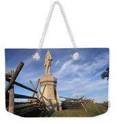 Bloody Road With A Statue Weekender Tote Bag