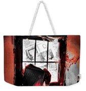 Bloody Walls Weekender Tote Bag