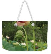 Bloom Among The Pods Weekender Tote Bag