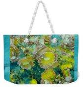 Bloom In Vintage Ornate Style Weekender Tote Bag