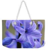 Bloomin Blue Weekender Tote Bag