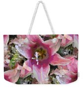 Blooming Beauty Weekender Tote Bag