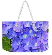 Blooming Blue Hydrangea Weekender Tote Bag