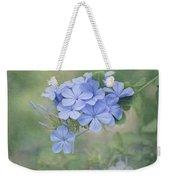 Blooming Blues Weekender Tote Bag