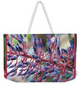 Blooming Bromeliads Collage Weekender Tote Bag