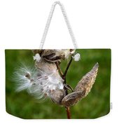 Blooming By The Fence Weekender Tote Bag