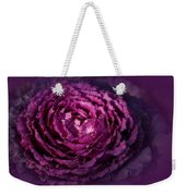 Blooming Cabbage Weekender Tote Bag