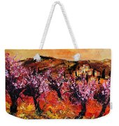 Blooming Cherry Trees Weekender Tote Bag