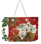 Blooming Christmas II Weekender Tote Bag