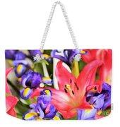 Blooming Colors Weekender Tote Bag