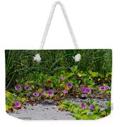 Blooming Cross Vines Along The Beach Weekender Tote Bag