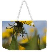 Blooming Dandelion Flower Weekender Tote Bag