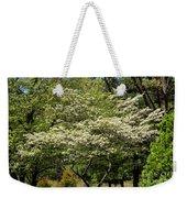 Blooming Dogwood Weekender Tote Bag