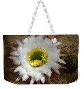 Blooming Hedgehog Cactus Weekender Tote Bag