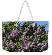 Blooming Lilacs Weekender Tote Bag