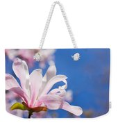 Blooming Magnolia Flower Weekender Tote Bag