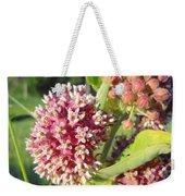 Blooming Milkweed Flowers Weekender Tote Bag
