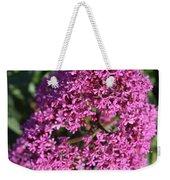 Blooming Pink Phlox Flowers In A Spring Garden Weekender Tote Bag