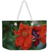 Blooming Poms Weekender Tote Bag