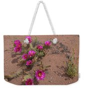Blooming Prickley Pear Weekender Tote Bag