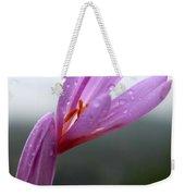 Blooming Purple Flower Weekender Tote Bag