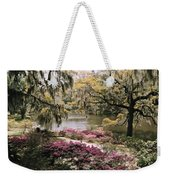 Blooming Shrubs And Trees Weekender Tote Bag