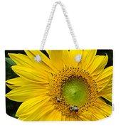 Blooming Sunflower Closeup Weekender Tote Bag