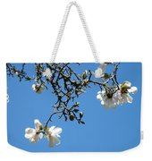 Blooming Trees Art Print White Magnolia Flowers Baslee Troutman Weekender Tote Bag