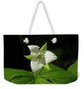 Blooming Trillium Weekender Tote Bag