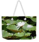 Blooming Waterlily  Weekender Tote Bag