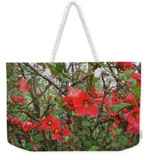 Blooms In The Alley Weekender Tote Bag