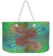 Blooms In The Mist Weekender Tote Bag