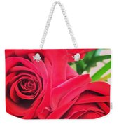 Blooms Of Red Weekender Tote Bag
