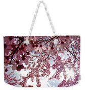 Blossom Artwork Spring Flowers Art Prints Giclee Weekender Tote Bag