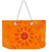 Blossom In Orange Weekender Tote Bag