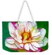 Blossom Lotus Flower Weekender Tote Bag