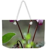 Blossom Of Cyclamens Weekender Tote Bag