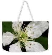 Blossom Square Weekender Tote Bag