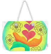 Blossoming From Within Weekender Tote Bag