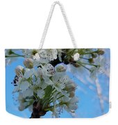 Blossoming Pear Weekender Tote Bag