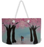 Blossoming Romance Weekender Tote Bag