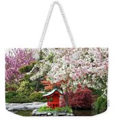 Blossoms Abound In The Japanese Garden Weekender Tote Bag