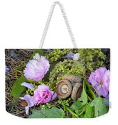 Blossoms And Acorn Weekender Tote Bag